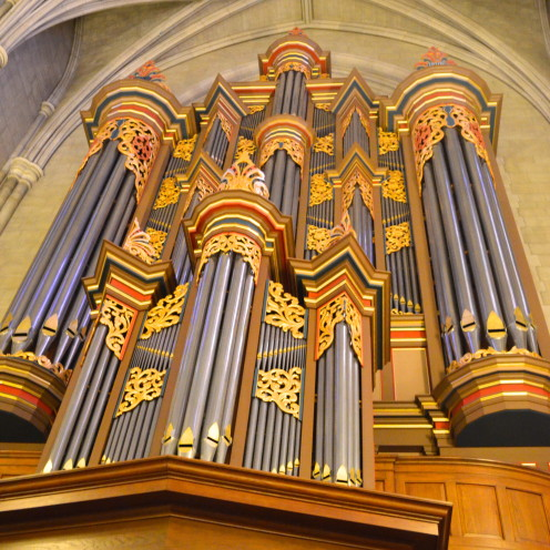 Pipe Organ | Duke University Chapel | www.AfterOrangeCounty.com