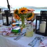 A LAKESIDE DINNER OF SEA VEGETABLES