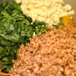 Italian Farro Salad with Vegetables | Recipe By www.AfterOrangeCounty.com