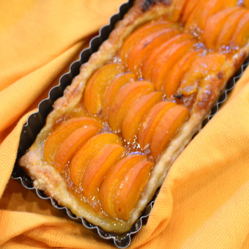 Fresh Apricot Tart | Recipe By www.AfterOrangeCounty.com