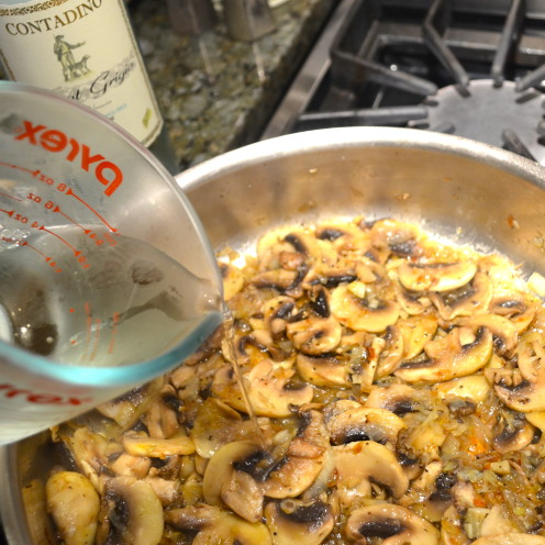 MUSHROOM MOSTACCIOLI | Recipe By www.AfterOrangeCounty.com