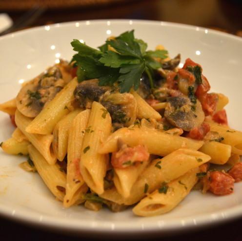 MUSHROOM MOSTACCIOLI | Recipe By www.AfterOrangeCounty.com