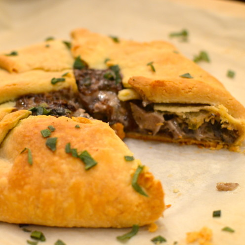 MUSHROOM GALETTE - Great recipe by www.AfterOrangeCounty.com