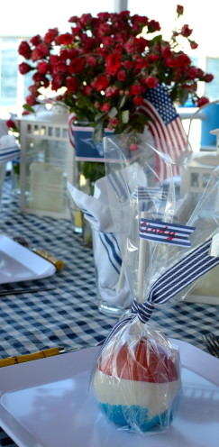 RED, WHITE AND BLUE CANDIED APPLES | Tutorial By www.AfterOrangeCounty.com