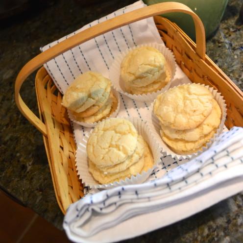 Lemon Crinkle Cookies | www.AfterOrangeCounty.com