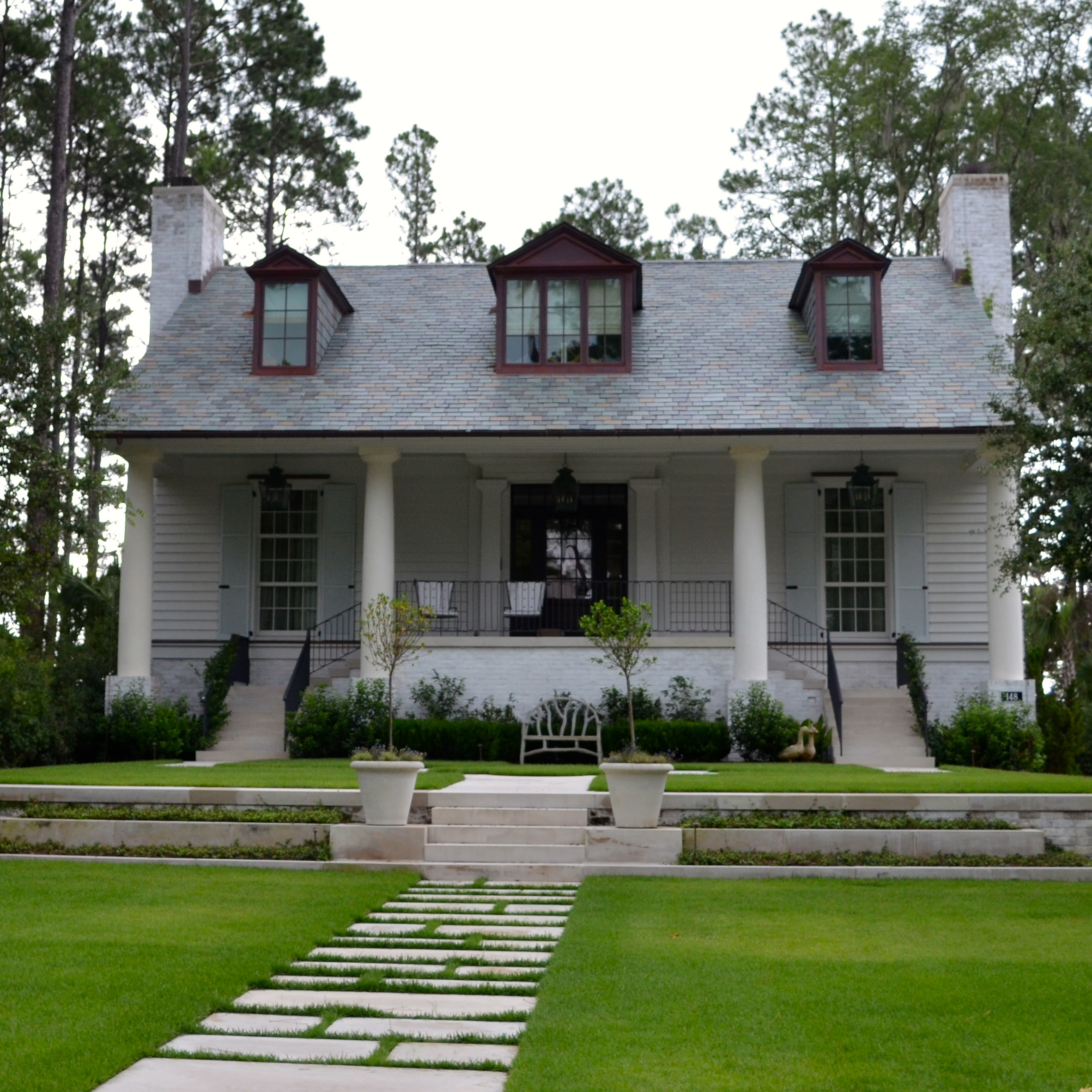 The lovely lowcountry homes of palmetto bluff after for Low country house