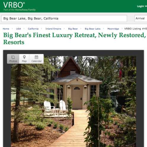 The Bird's Nest Big Bear Lake Vacation Rental | www.VRBO.com/452020