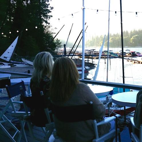 DRINKS AT THE LAKE ARROWHEAD YACHT CLUB | www.AfterOrangeCounty.com
