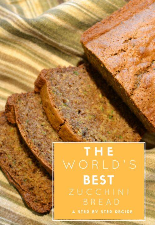 Orange Zucchini Bread Recipe