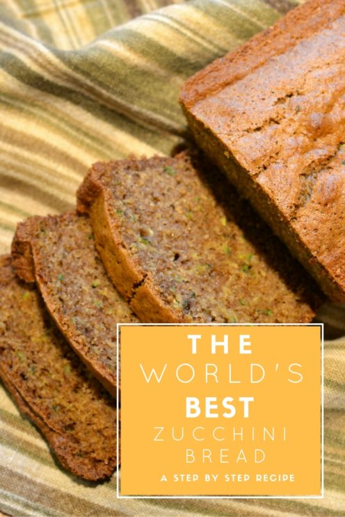 The World's Best Zucchini Bread Recipe | www.AfterOrangeCounty.com
