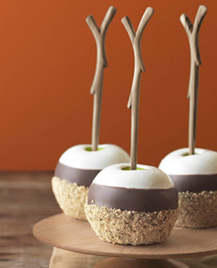 20 ways to celebrate national s'mores day | www.AfterOrangeCounty.com | Triple Dipped S'mores Apples