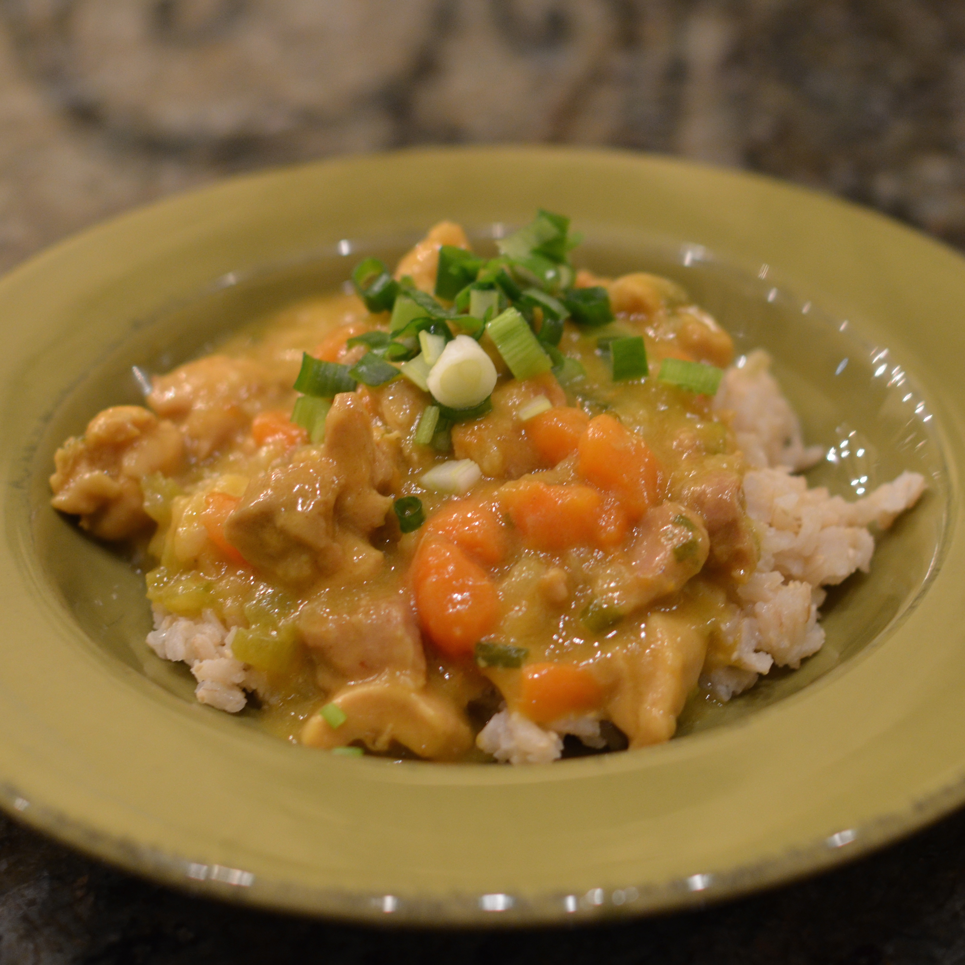 CHICKEN COCONUT CURRY - After Orange County
