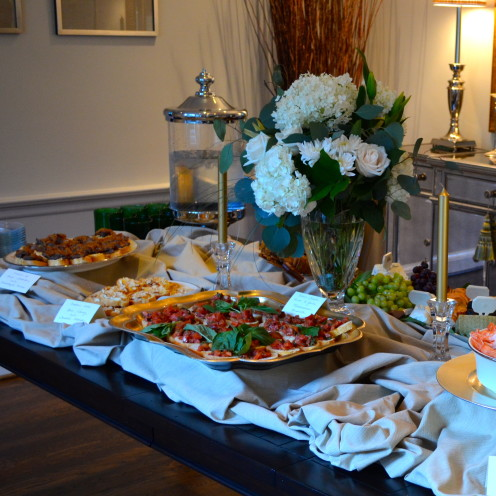 HOW TO HOST A BEAUTIFUL REHEARSAL DINNER | By Lifestyle Blogger Celia Becker @ www.AfterOrangeCounty.com