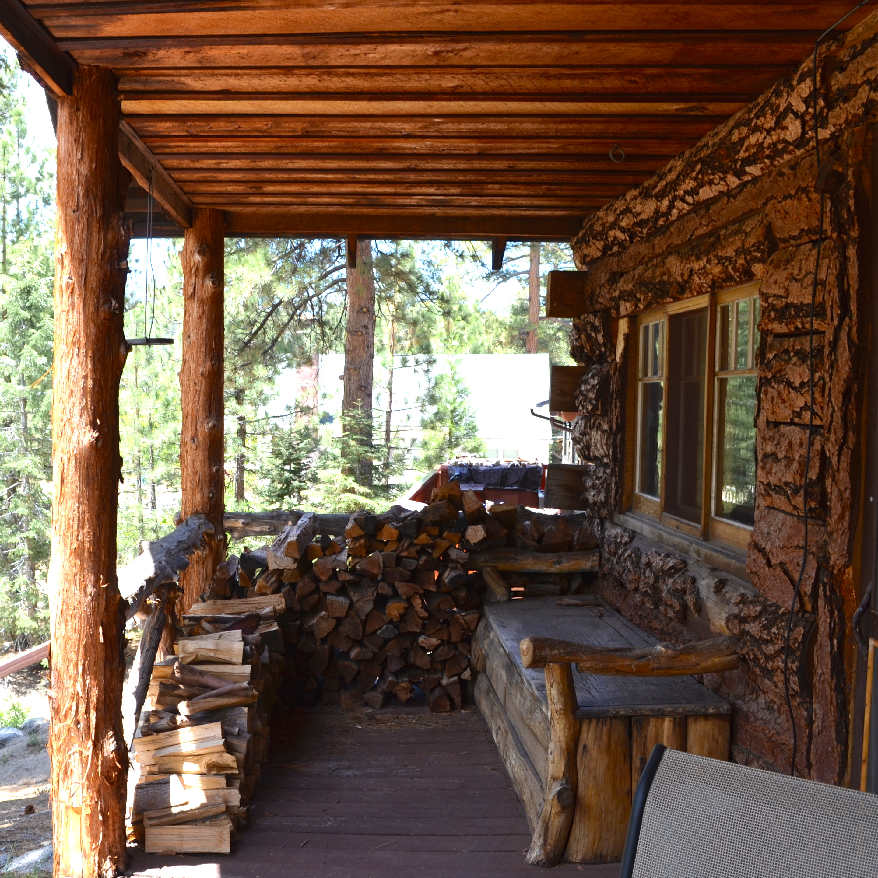 """An Update On My Log Cabin Renovation: MY NEW """"OLD"""" LOG CABIN"""