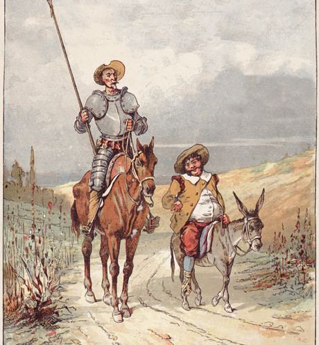 Don Quixote and Sancho Panza | www.AfterOrangeCounty.com