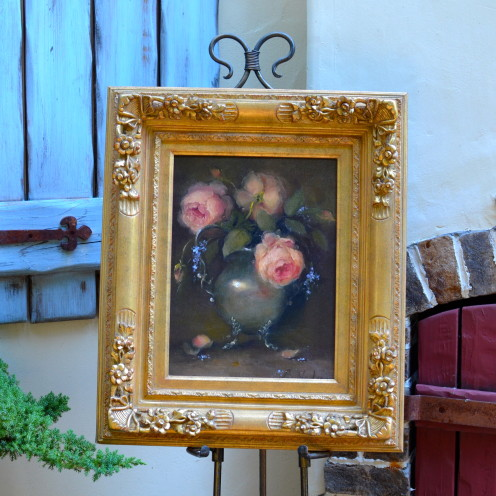 A NEW ADDITION TO MY HOME | Still Life Painitng By Brenda Gibson | www.AfterOrangeCounty.com