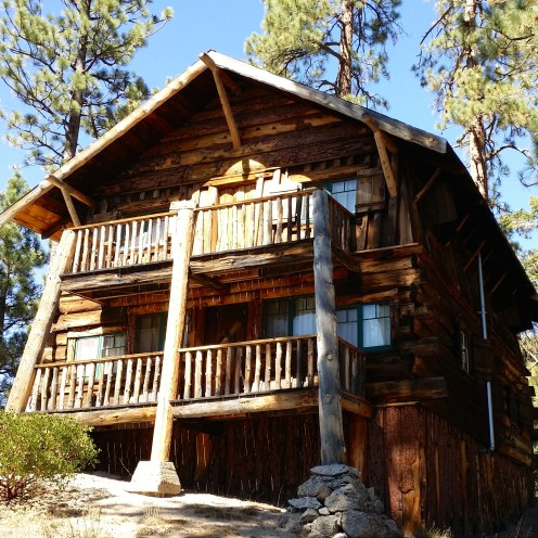 A VISIT TO MY LOG CABIN | Fawn Skin, California | www.AfterOrangeCounty.com