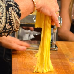 Fresh Semolina Tagliatelle | GIRLS NIGHT WITH A GREAT PERSONAL CHEF | www.AfterOrangeCounty.com