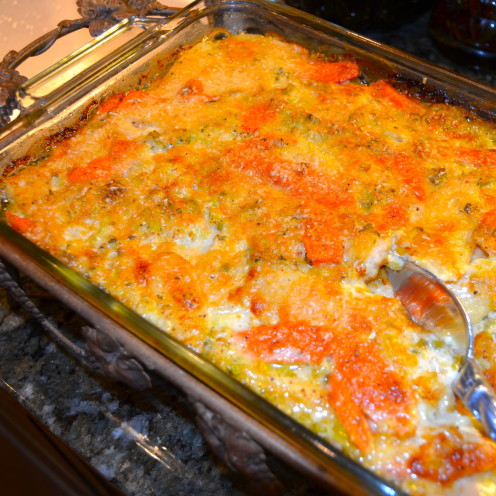 PARSNIP, CARROT AND LEEK GRATIN | Recipe By www.AfterOrangeCounty.com