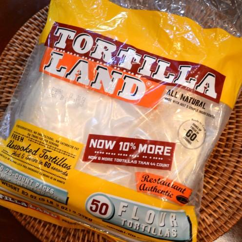 Uncooked Flour Tortillas   PIZZA BIANCA Recipe   www.AfterOrangeCounty.com