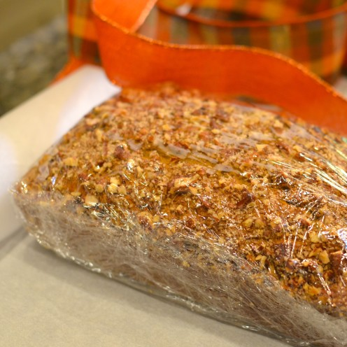 PUMPKIN PECAN BREAD | Recipe By www.AfterOrangeCounty.com