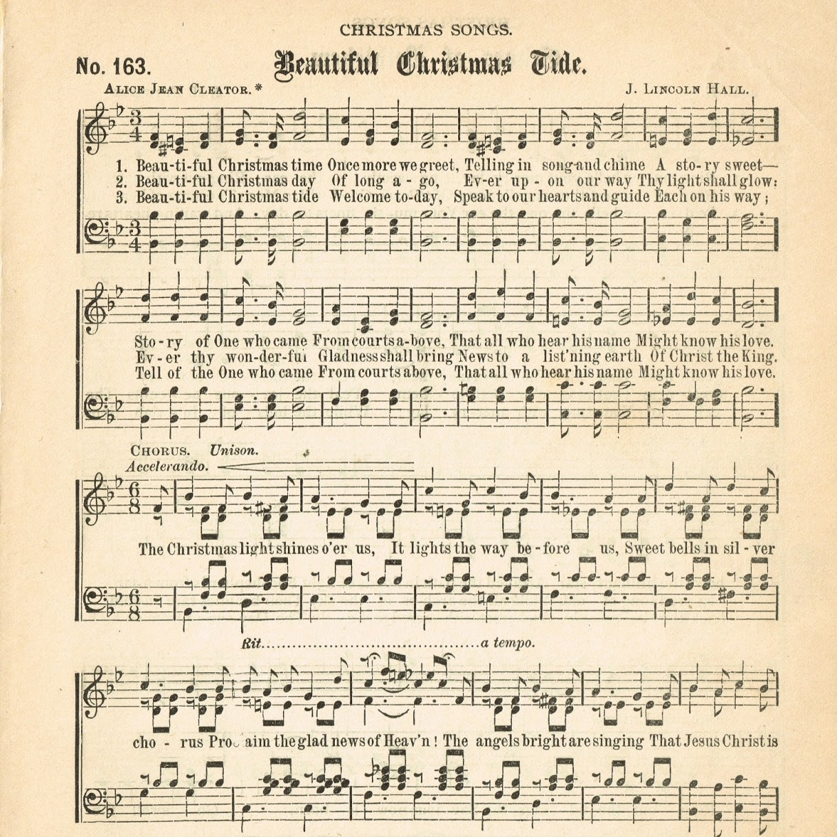 photograph relating to Printable Christmas Sheet Music titled Basic SHEET Tunes Xmas TREES - Once Orange County