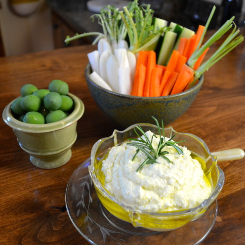 LEMON AND FETA CHEESE DIP RECIPE| www.AfterOrangeCounty.com