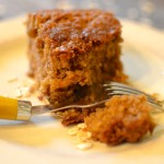 BROWN SUGAR OATMEAL CAKE