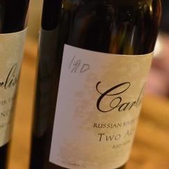 Flight of Carlisle Old Vine Wines   www.AfterOrangeCounty.com