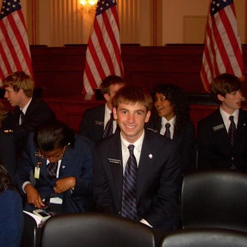 111th Congress House Page Class | www.AfterOrangeCounty.com