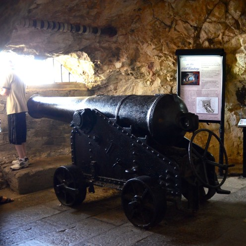 A VISIT TO THE BRITISH COLONY OF GIBRALTAR | The Great Siege Tunnels | www.AfterOrangeCounty.com