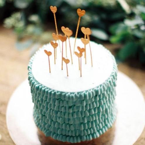A BAKER'S DOZEN VALENTINE CAKES | www,AfterOrangeCounty.com