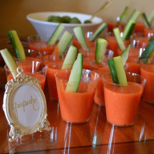 HOW TO HOST A VERY IMPRESSIVE #COCKTAIL #PARTY | Gazpacho | www.AfterOrangeCounty.com