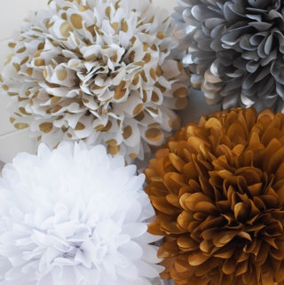HOW TO HOST A VERY IMPRESSIVE #COCKTAIL #PARTY | Decorations from PartyPoms on Etsy | www.AfterOrangeCounty.com