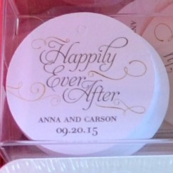 HOW TO HOST A BEAUTIFUL BRIDAL SHOWER | www.AfterOrangeCounty.com | #Party #Favor Cards By Wedding Paper Divas