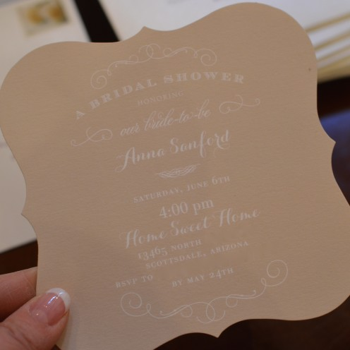 HOW TO HOST A BEAUTIFUL BRIDAL SHOWER | www.AfterOrangeCounty.com | #Bridal #Shower #Invitations By #WeddingPaperDivas