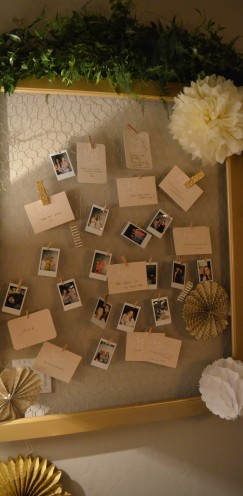 HOW TO HOST A BEAUTIFUL BRIDAL SHOWER | www.AfterOrangeCounty.com | Advice & Song Request Cards From Wedding Paper Divas