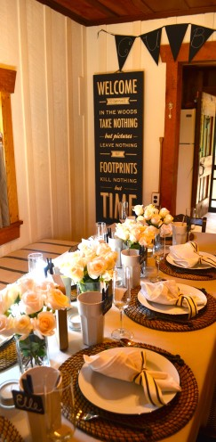 AN INTIMATE GRADUATION GATHERING IN OUR NEW MOUNTAIN RETREAT | www.AfterOrangeCounty.com | #graduation #party #HobbyLobby