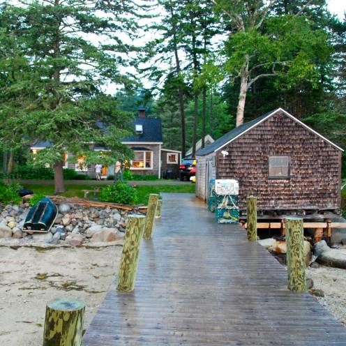 Berry Cottage, Spruce Head Island, Maine |www.AfterOrangeCounty.com