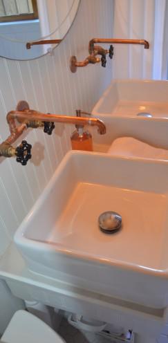 INTRODUCING MY LOG CABIN BATHROOM RENOVATION   www.AfterOrangeCounty.com