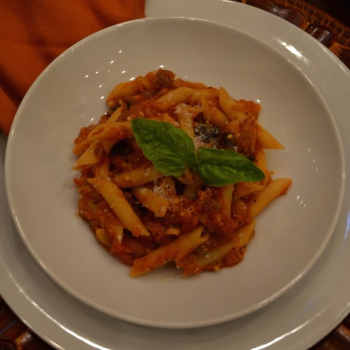 MY FAVORITE PASTA RECIPE | #Eggplant #Pasta #Recipe | www.AfterOrangeCounty.com