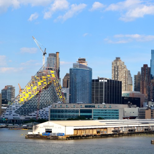SAILING OUT OF NEW YORK HARBOR   www.AfterOrangeCounty.com   #NCL #CruiseLine #TheHaven #NorwegianCruiseLines #NYC