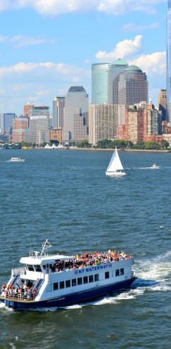 SAILING OUT OF NEW YORK HARBOR | www.AfterOrangeCounty.com | #NCL #CruiseLine #TheHaven #NorwegianCruiseLines #NYC