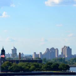 SAILING OUT OF NEW YORK HARBOR   www.AfterOrangeCounty.com  #EllisIsland #NCL #CruiseLine #TheHaven #NorwegianCruiseLines #NYC