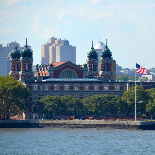 SAILING OUT OF NEW YORK HARBOR | www.AfterOrangeCounty.com |#EllisIsland #NCL #CruiseLine #TheHaven #NorwegianCruiseLines #NYC