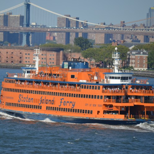 SAILING OUT OF NEW YORK HARBOR | www.AfterOrangeCounty.com | #StatenIslandFerry #NCL #CruiseLine #TheHaven #NorwegianCruiseLines #NYC