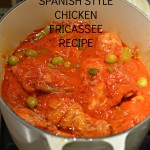 SPANISH STYLE CHICKEN FRICASSEE