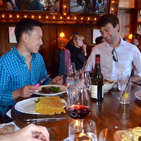 DINING AT DIRTY FRENCH  #LudlowHotel   #NYC   www.AfterOrangeCounty.com