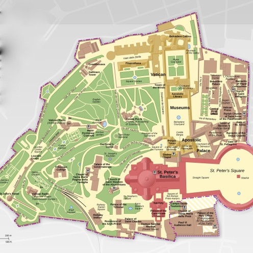 A VISIT TO THE VATICAN GARDENS | #VaticanCity Map #Pope #Italy #Vatican #Gardens | www.AfterOrangeCounty.com