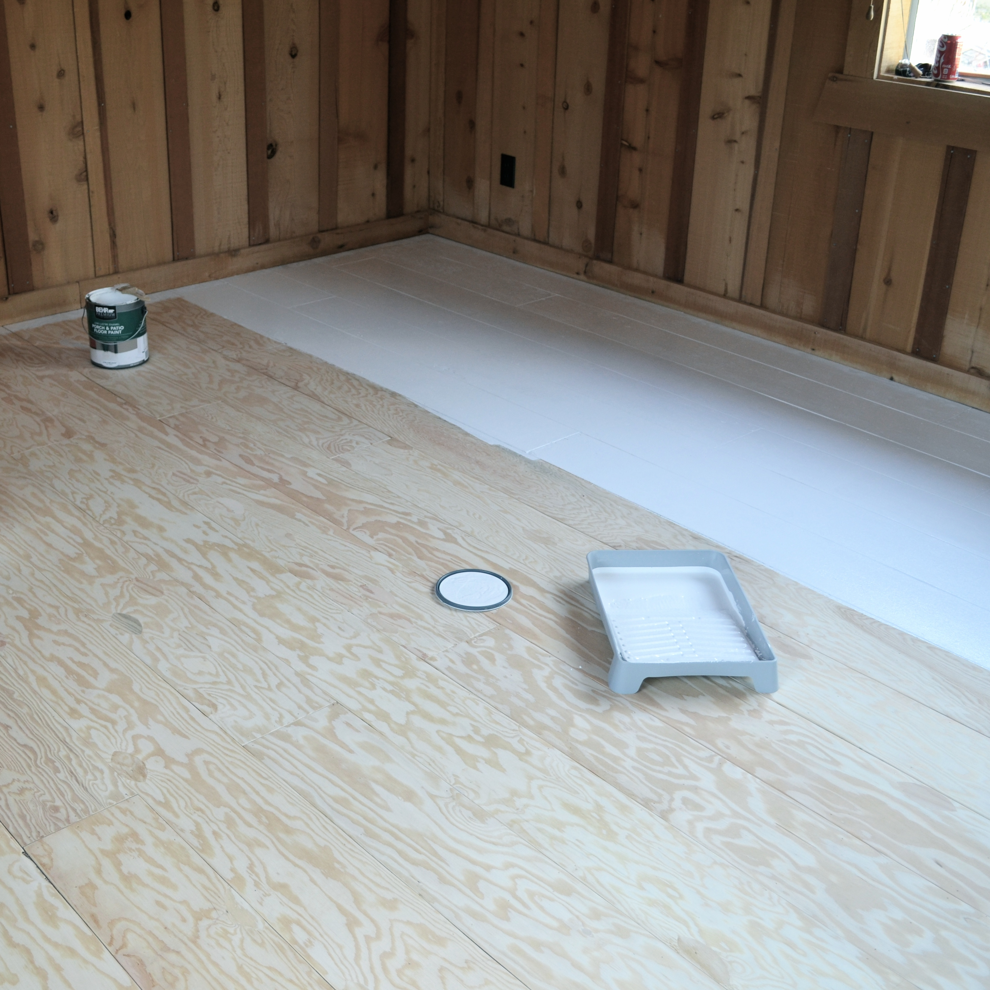 HOW TO CREATE BEAUTIFUL PLANK FLOORING OUT OF PLYWOOD | A Tutorial By After  Orange County